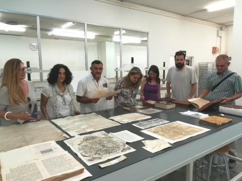 Alumnes del Postgrau El llibre antic